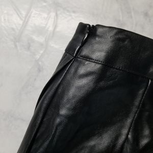 LF Skirts - NWT LF Pleather Wrap Around Skirt Black Size XS